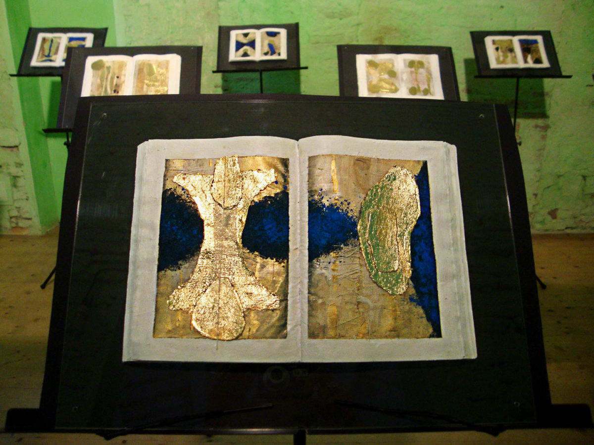 Luciana Soriato, Libri pittorici