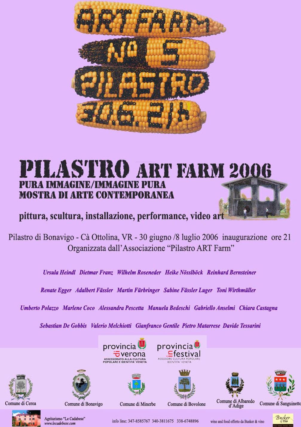 Pura immagine immagine pura - Artfarm Pilastro -2006