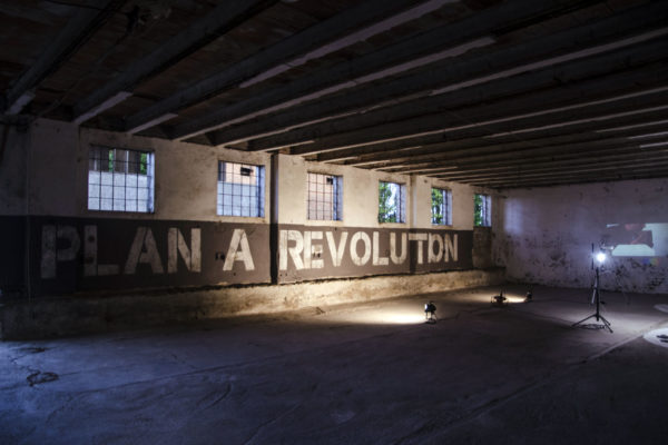 "Tiziano Bellomi, ""Plan a revolution"", 2017"