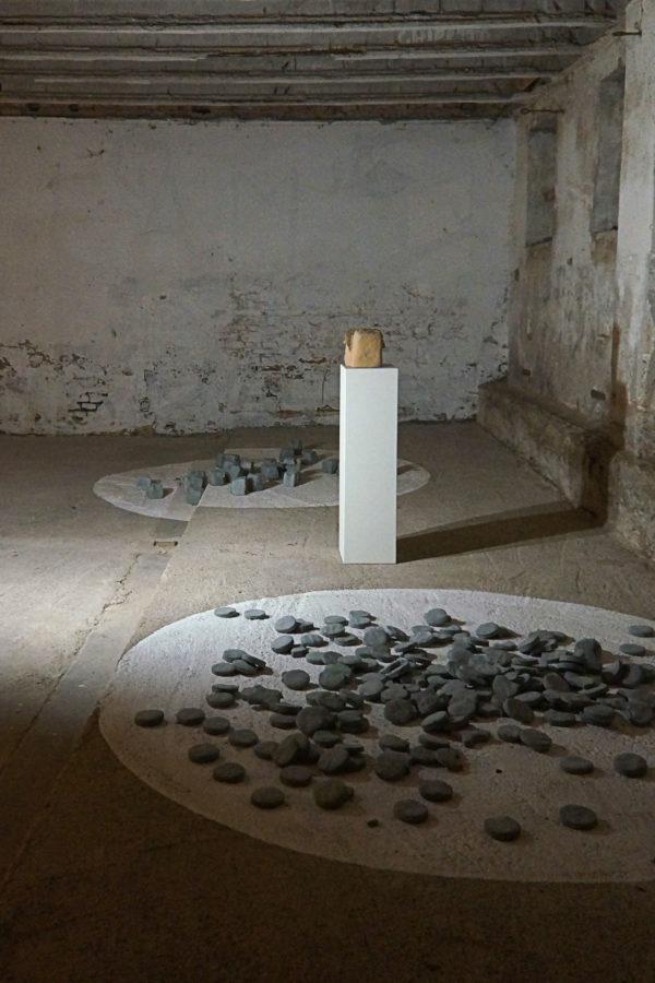 """Tiziano Bellomi, """"Coriandoli"""", """"Terra cruda"""", """"Cemento Morsicato"""", 2017"""
