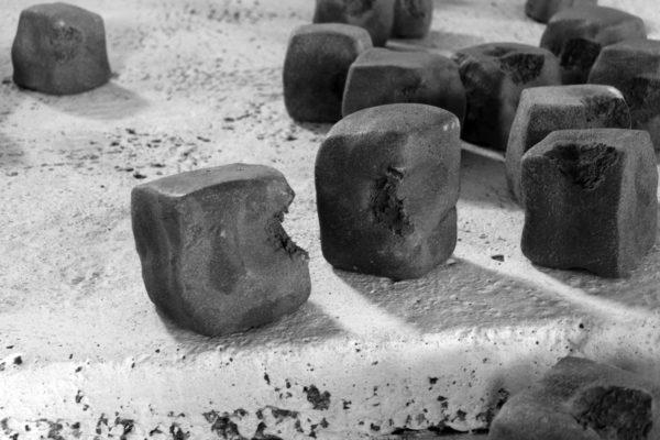 """Tiziano Bellomi, """"Cemento morsicato"""", 2017"""