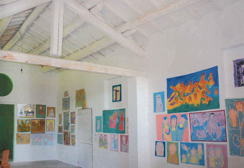 Maria Orecchioni. Artfarm Pilastro - Derivart - Edizione 8, 2009