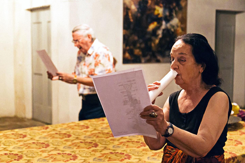Carla Bertola & Alberto Vitacchio, Performance foto: Roberto Turazza