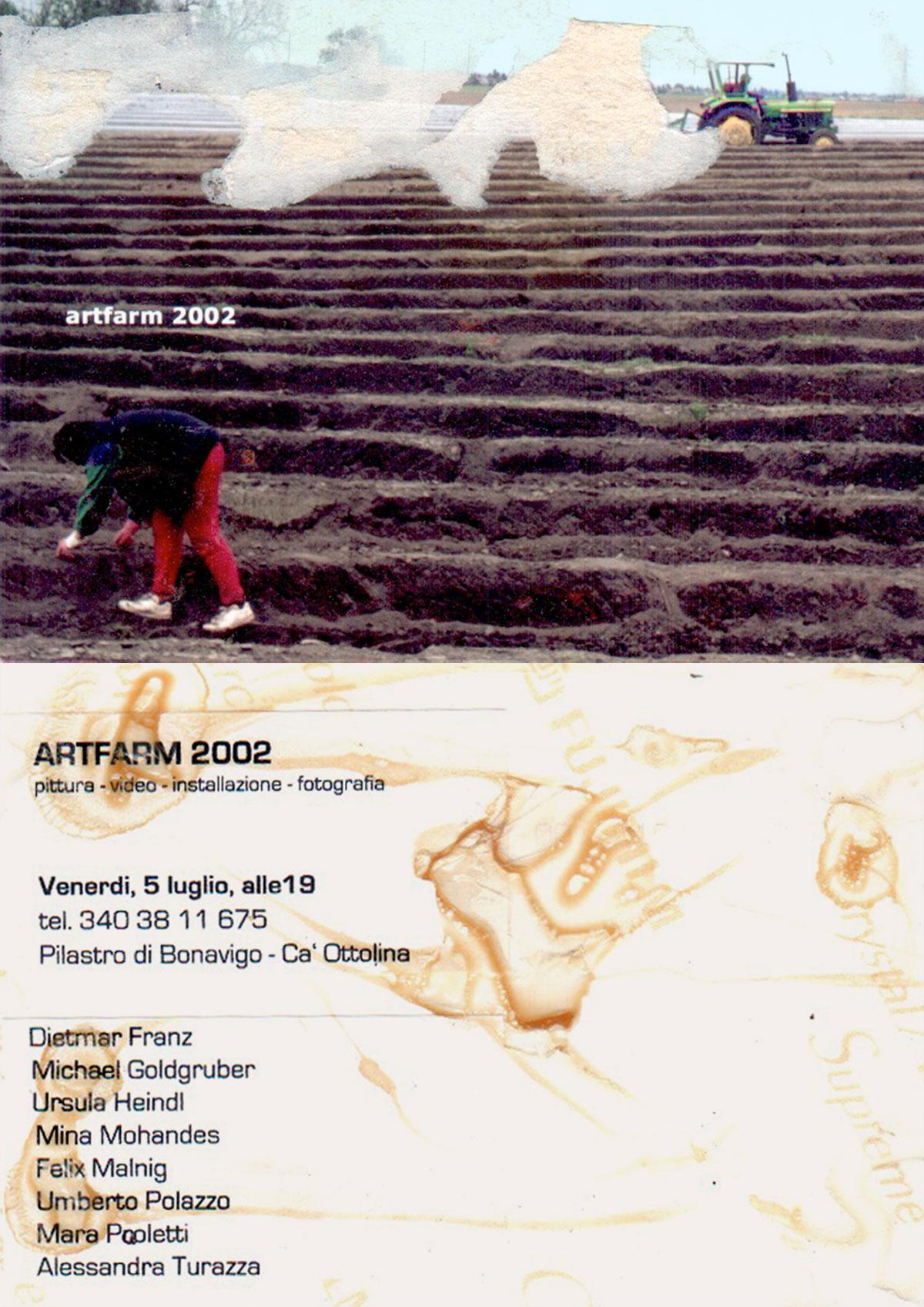 Prima Edizione - Artfarm Pilastro -2002