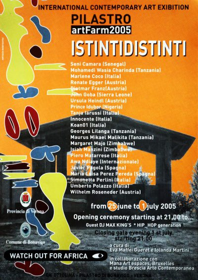 Istintidistinti - Artfarm Pilastro -2005