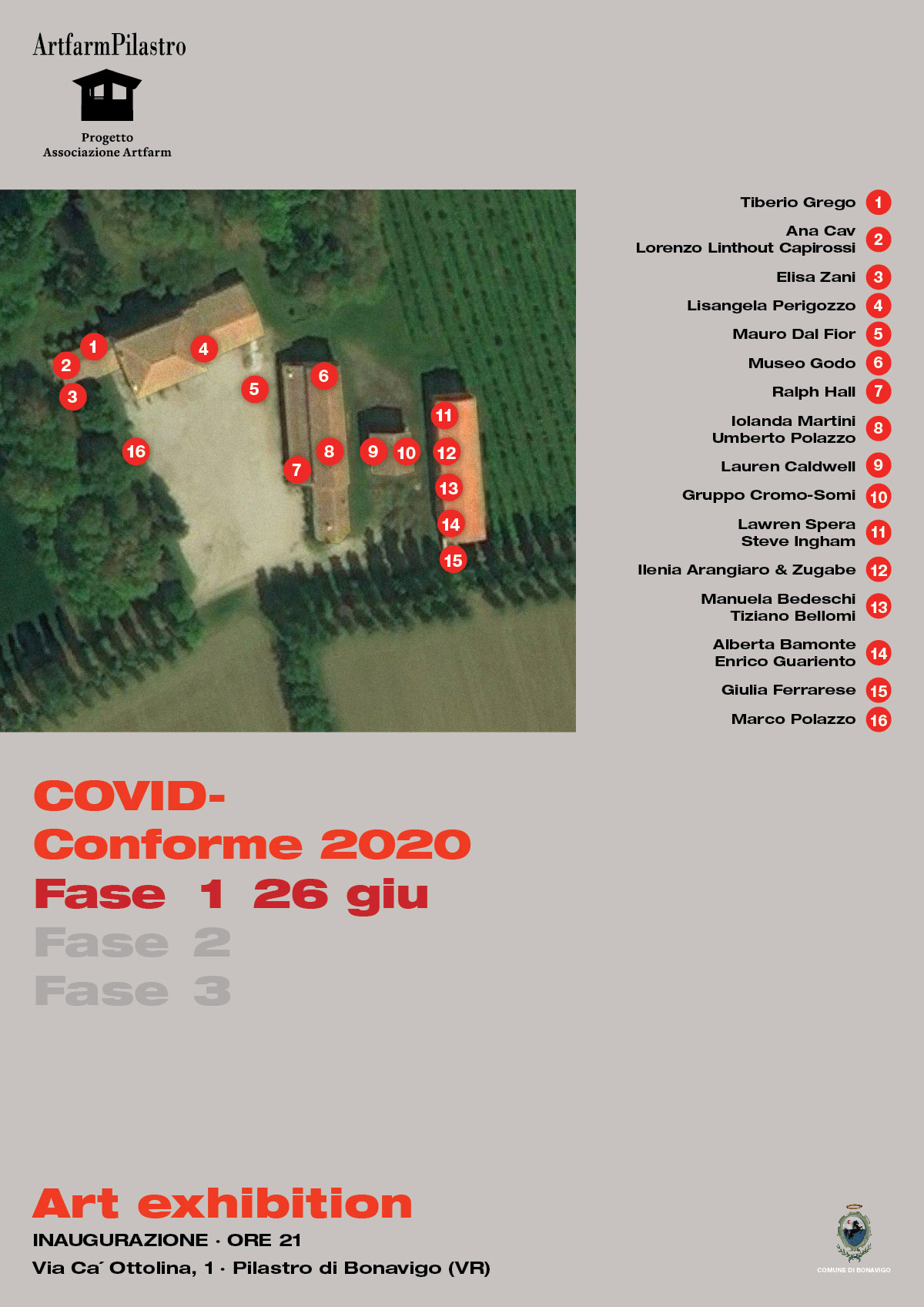 Artfarm Pilastro - COVID-Conforme 2020 - 26 giugno